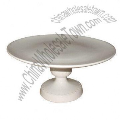 Tranditional Cake Stand, Made of Stoneware, Durable