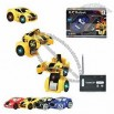 Transformation RC Car Robot with Remote Control Distance of 15 Meters