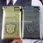 Transformers windproof metal lighter relief edition