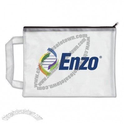 Translucent Accessory Zippered Bag