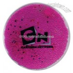 Translucent squishy liquid gel bead filled mouse pad