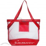 Transparent Beach Tote Bags