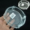 Transparent Glass Ashtray