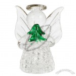 Transparent Glass Ornament Exquisite Praying Angel Pendant