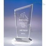 Transparent corporate modern acrylic trophy/award/present