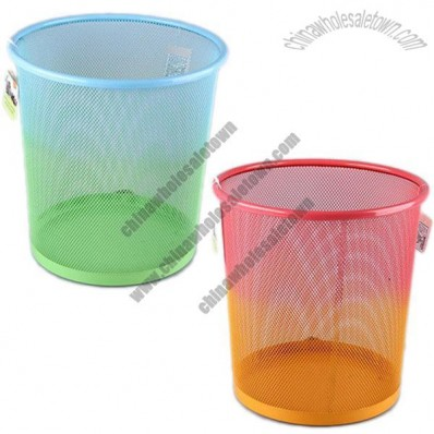 Trash cans with two Color Painting