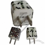 Travel Adapter with 5V, 1A Output and CE Certificate