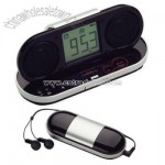 Travel Alarm Clock With Fm Radio