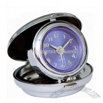 Travel Alarm Clock with Protective Hinged Cover