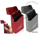 Travel Aluminum Cigar Cigarette Case lighter box /case