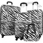 Travel Concepts Safari 4 Piece Luggage Set