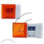 Travel Desk Clock with LCD Screen
