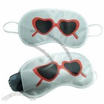 Travel Kit Satin Eye Mask with Pocket