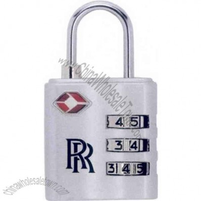 Travel Lock With Combination Locking Mechanism