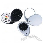 Travel Mirror With Comb And Sewing Kit