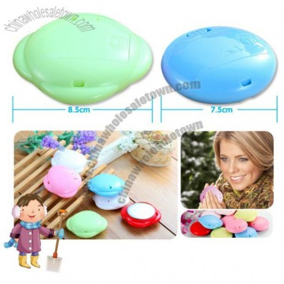 Travel Outdoor Mini Flower Shape Portable Battery Hand PO Pocket Heat Warmer