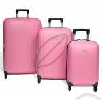 Travel Pink Hard Suitcase