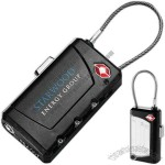 Travel Sentry - ABS Plastic Luggage Tag And Lock