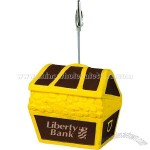 Treasure Chest Stress Ball Memo Holder