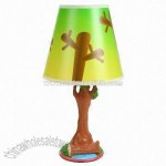 Tree Figural Base Lamp