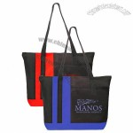 Tri-Band Polyester Tote Bags