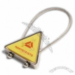 Triangle Cable Key Chain