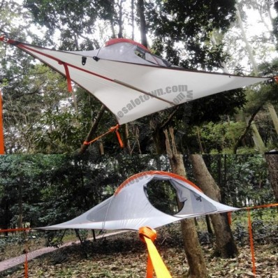 Triangle Hanging Camping Tree Tent