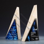 Triangle Marble Trophy