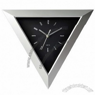 Triangle Wall Clock