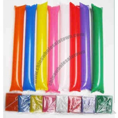 Tube cheering stick, thunder stick, inflatable noisemaker.