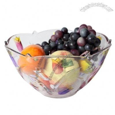 Tulip Glass Fruit Tray