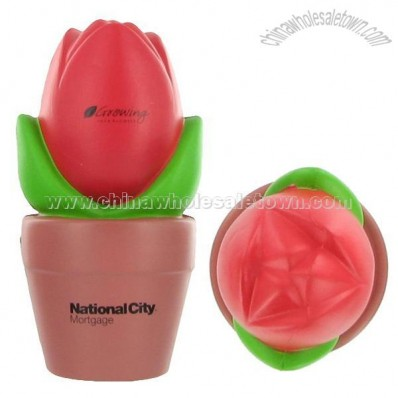 Tulip In Pot Stress Ball