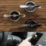 Turbo-Prop Engine Shaped Car Air Vent Perfume Diffuser