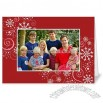 Twinkle Flakes Scarlet Holiday 5x7 folded card