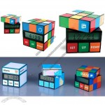 Twist Magic Cube Calendar Clock