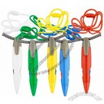 Two Color Lanyard Pen