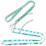 Two Color Silicone Lanyard