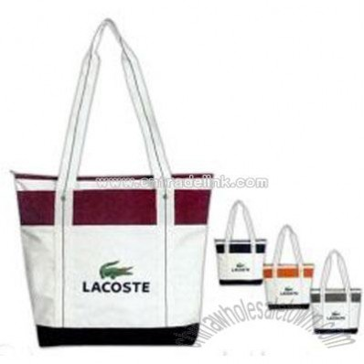 Two Tone Boat Bag