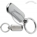 Two Tone Metal Keyring