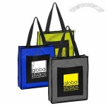 Two-Tone Travel Polyester Tote Bags