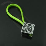 Two-dimensional Code Keychain
