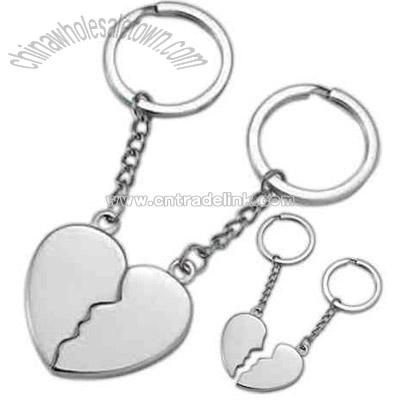 broken heart pictures. silver roken heart key
