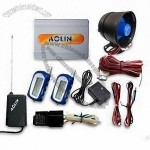 Two-way Remote Start Car Alarm System with Remote Trunk Release and LED Memory