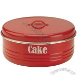Typhoon Vintage Cake Tin Red