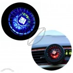 Tyre Shape Car Air-Refreshener with Perfume (Flash LED Logo by wind electric)