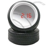 Tyre Shaped Sensor Mirror Alarm Clock