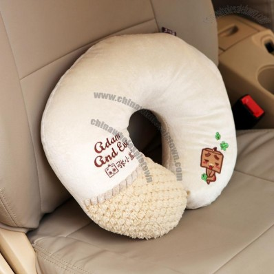 U-Shaped Pillow Car Headrest