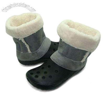 UGG EVA Clogs with Fur Lining