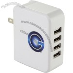 UL Certified Gale 4 Port AC Adaptor