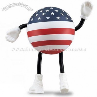 USA Man Stress Balls